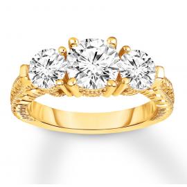 Diamond 3-Stone Ring