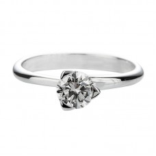 Diamond engagement ring 1.00ct Pyramide