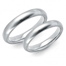 Wedding ring platinum 3.5mm H