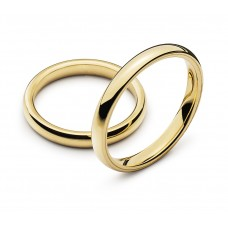 Wedding ring yellow gold 3.0mm R
