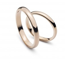 Wedding ring pink gold 3.0mm R