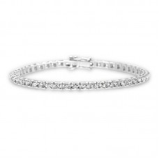 Diamond Tennis bracelet 3.12ct