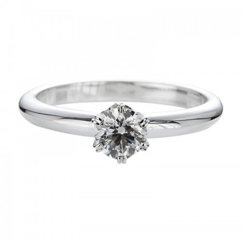 Diamond engagement ring 1.00ct 6 claws