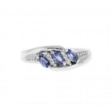 Marquise Yogo Sapphires Ring
