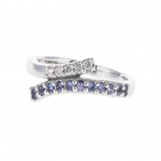 A Yogo Sapphire Ring Duo