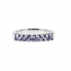 A 9 Yogo Sapphires Ring