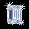 Diamond Emerald 5.99ct D IF